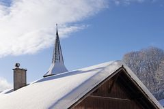 A sunny winter day Stock Photography