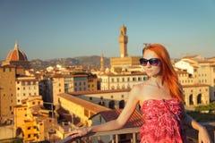 Sunny woman Royalty Free Stock Photography