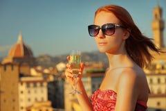 Sunny woman Royalty Free Stock Image