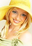 Sunny woman. royalty free stock image