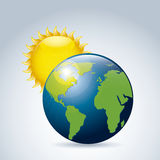 Sunny world Royalty Free Stock Images