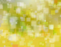 Sunny yellow blurry abstract background Royalty Free Stock Image