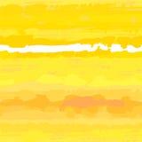 Sunny yellow vector seamless texture Stock Photography