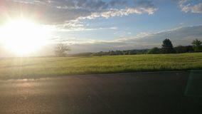 sunny zbocze Fotografia Royalty Free