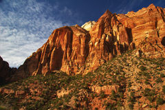 Sunny Zion Royalty Free Stock Image