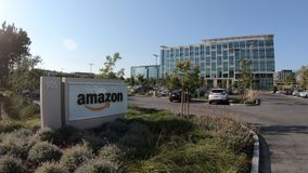 Sunnyvale Verenigde Staten Amazonië stock footage