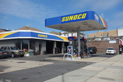 Sunoco Gas Station Stock Image