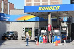Sunoco gas station Stock Photo