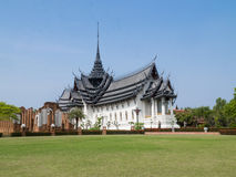 Sunpetch royal palace in the Ancient City (Mueang Boran), Samut Royalty Free Stock Photography