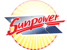 Sunpower illustration stock