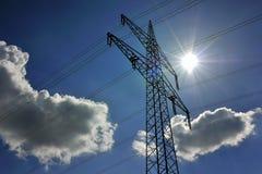 Sunpower eléctrico Fotografía de archivo libre de regalías