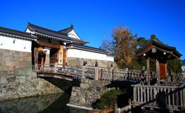 Sunpu kasztel, Shizuoka miasto, Japonia Obrazy Stock