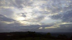 sunraise日落芒格洛尔晚上 库存照片
