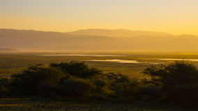 Sunraise in Ngorongoro Crater Royalty Free Stock Image