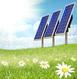 sunray клетки солнечный Стоковые Изображения RF