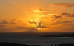 Sunrays στον παράδεισο Στοκ φωτογραφίες με δικαίωμα ελεύθερης χρήσης