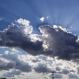 Sunrays стоковая фотография rf