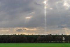 Sunrays Zdjęcia Stock