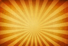 Sunrays against a grungy background Stock Photography
