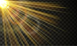 Sunrays with dispersion effect. Sun rays with dispersion and overlay effect Stock Photo