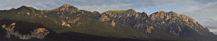sunrice βουνών bucegi στοκ φωτογραφία