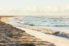 Sunrice θάλασσας τοπίων Στοκ Εικόνες