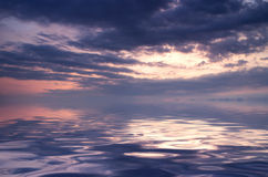 Sunrice θάλασσας Στοκ Φωτογραφίες