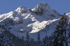 Sunrice στην αιχμή Malyovitsa, βουνό Rila Στοκ Φωτογραφίες