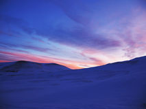 Sunrice do inverno Foto de Stock Royalty Free