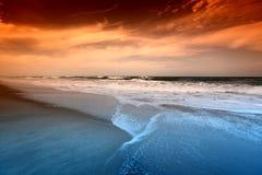 Sunrice do oceano Imagem de Stock