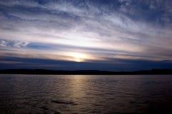 Sunrise. At Oslo,Norway Stock Image