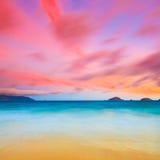 Sunrise. Over the sea. Con Dao. Vietnam Royalty Free Stock Photos