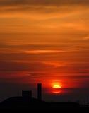 Sunrise. Beautiful sunrise an early March morning Royalty Free Stock Image