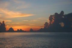 Sunrise. Vibrant sunrise Stock Photos