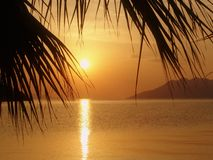 Sunrise. In Greece Royalty Free Stock Images