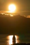 Sunrise. In Croatia royalty free stock images