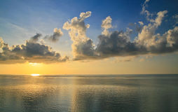 Sunrise. Over Atlantic ocean Miami Beach, Florida, USA Royalty Free Stock Images