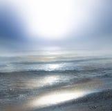 Sunrise. Beautiful sunrise on the sea Royalty Free Stock Images