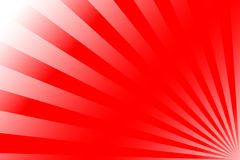 Sunrise. Red sunrise background illustration, with white and red stripes, with soft blur effect Royalty Free Stock Images