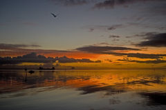 Sunrise. Over Indian River Lagoon Royalty Free Stock Image