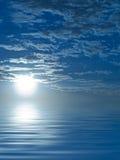 Sunrise. Sweet sunrise and his reflect (digital Stock Image