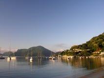 Sunrise in. Angra dos Reis - Rio de Janeiro - Brazil royalty free stock photo