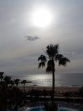 Sunrise. At the atlantic ocean. February 2006 royalty free stock photos