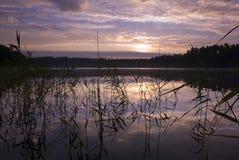 Sunrise. Royalty Free Stock Photo