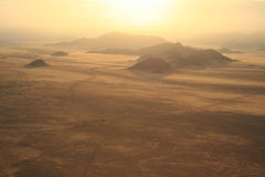 Sunrise mountains namibia desert stock photos