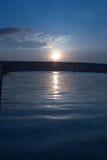 Sunrise. Blue rise Royalty Free Stock Photography