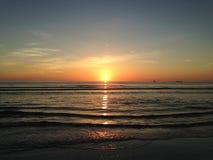 Sunrise above Atlantic Ocean. Stock Photography