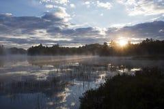 Sunrise in the Adirondacks. Sunrise in the Adirondack Mountains Royalty Free Stock Photography