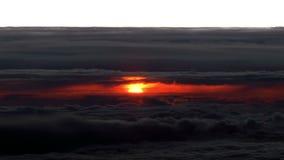 Sunrise. Aerial footage. stock video