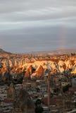 Sunrise And Rainbow Gerome Turkey Stock Images